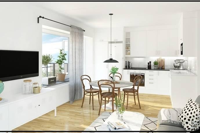 Bild: 2 rum bostadsrätt på Stenkvistavägen 10, Stockholms kommun Högdalen