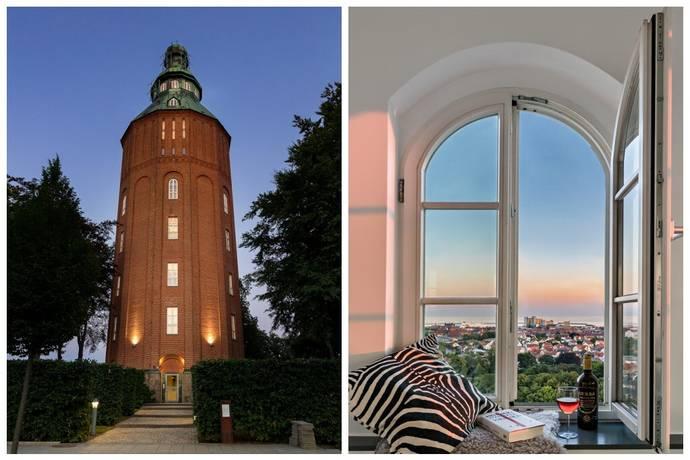 Bild: 4 rum bostadsrätt på Kristianstadsvägen 40, Ystads kommun Gamla vattentornet