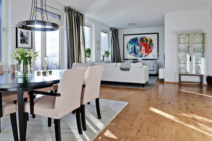 Bild: 3 rum bostadsrätt på Sehlstedtsgatan 9, Stockholms kommun Gärdet