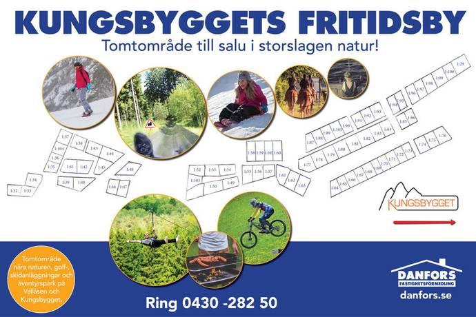 Bild: tomt på Kungsbygget 630 m.fl., Laholms kommun Kungsbygget