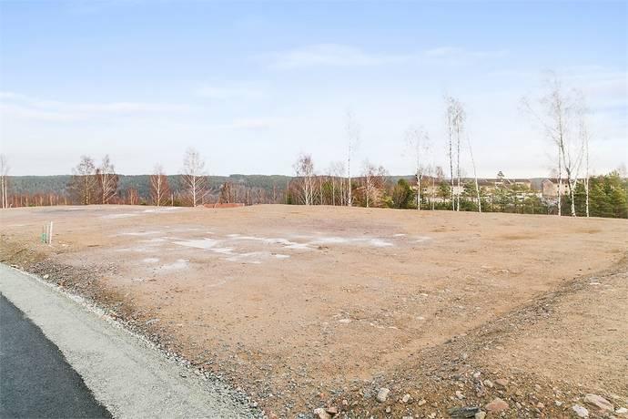 Bild: tomt på Korpvägen 15, Dals-Eds kommun Ed