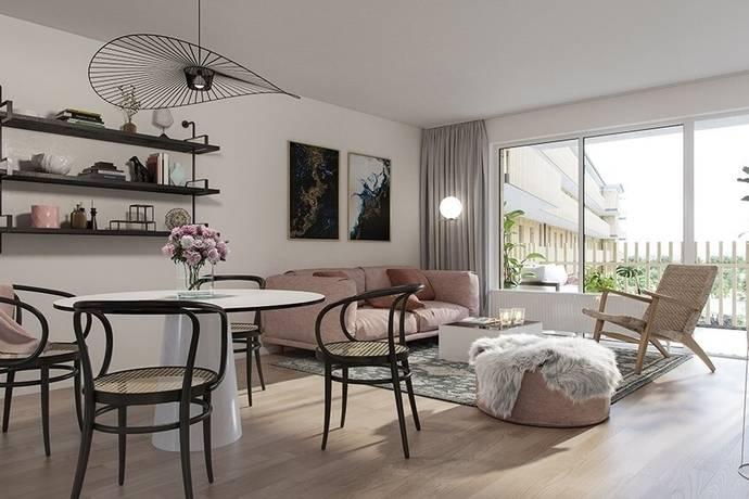 Bild: 4,5 rum bostadsrätt på HSB Atleten - Lgh 25, Malmö kommun Hyllie