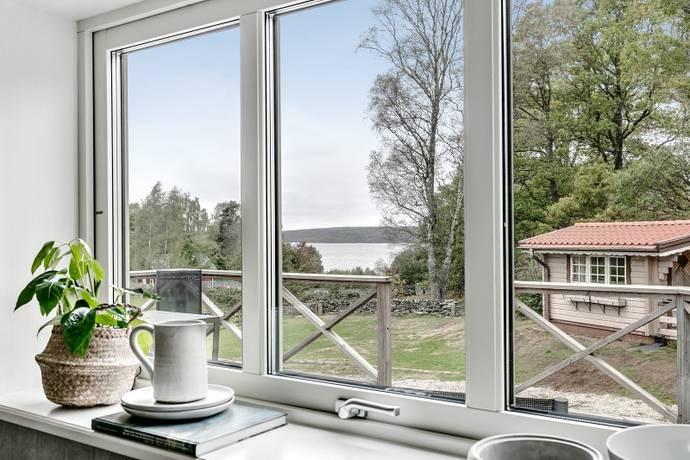 Bild: 5 rum villa på Sjögärde  1, Marks kommun Lygnern - Sjöutsikt