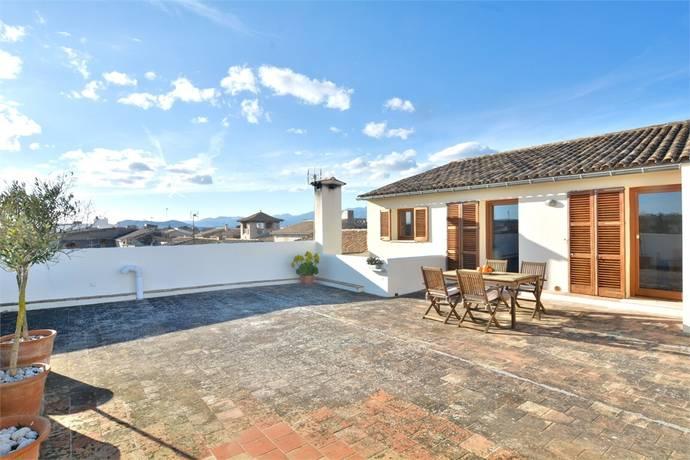 Bild: 2 rum villa på Vindsvåning med privat terrass, Spanien Muro | Mallorca