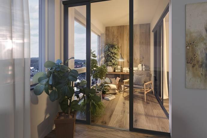 Bild: 3 rum bostadsrätt på Brf ICON 1, Växjö kommun Väster