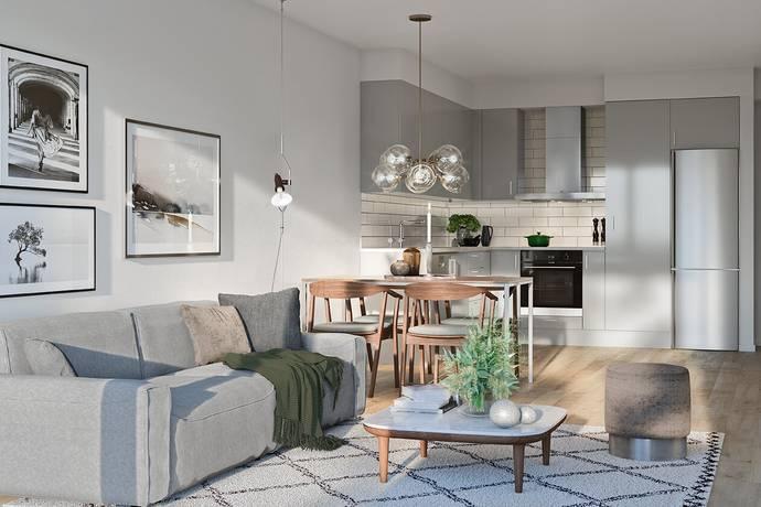 Bild: 2 rum bostadsrätt på Kolsyregatan 16 lgh 623, Malmö kommun Limhamns Sjöstad