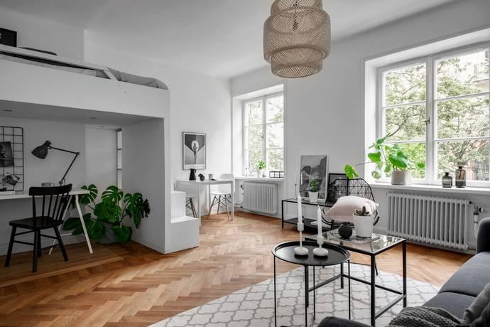 Bild: 1 rum bostadsrätt på Atlasgatan 13, 1 TR, Stockholms kommun Vasastan