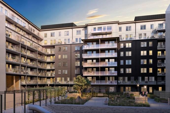 Bild: 4 rum bostadsrätt på Virkesvägen 9E, Stockholms kommun Hammarby Sjöstad