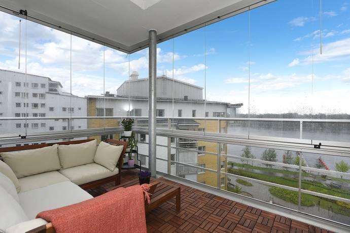 Bild: 3 rum bostadsrätt på Hoppets Gränd 16, Umeå kommun Öbacka Strand