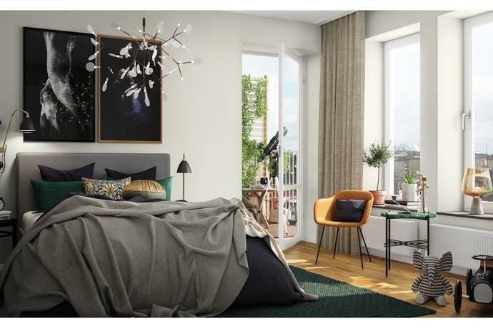 Bild: 3 rum bostadsrätt på Årstaskogs Väg, Stockholms kommun Liljeholmen/Årstaberg