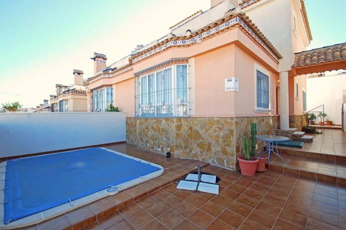 Bild: 4 rum radhus på Parhus med pool och takterrass, Spanien Torrevieja Söder - Villamartin