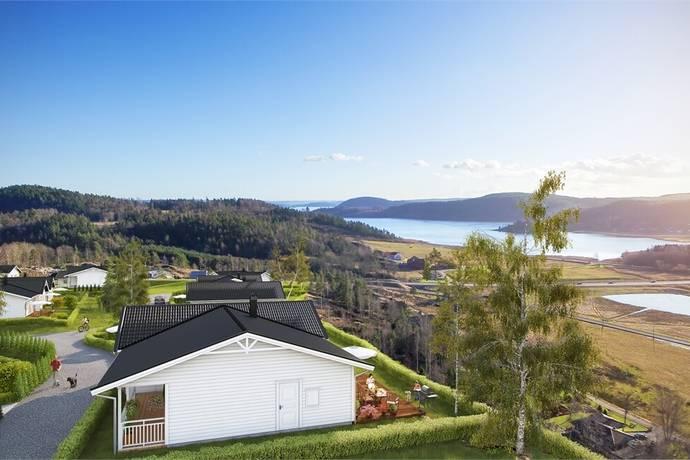 Bild: villa på Björkhallsvägen 9, Uddevalla kommun Herrestad-Utby-Rotviksbro