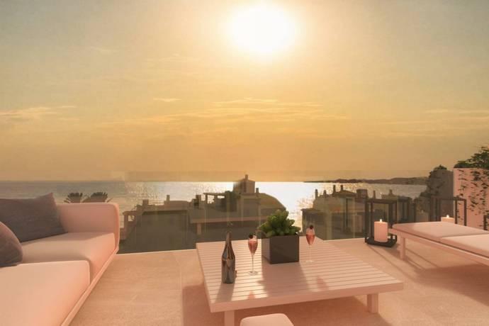 Bild: 4 rum bostadsrätt på Costa del Sol, Benalmadena, Spanien
