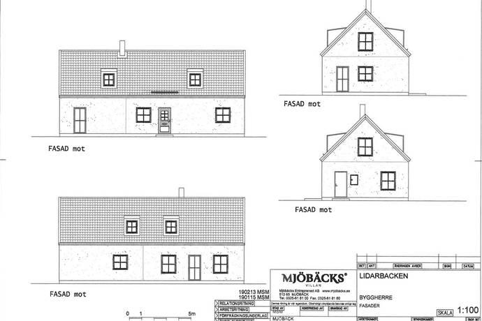 Bild: 148 m² villa på Lidarbacken 8, Halmstads kommun Steninge