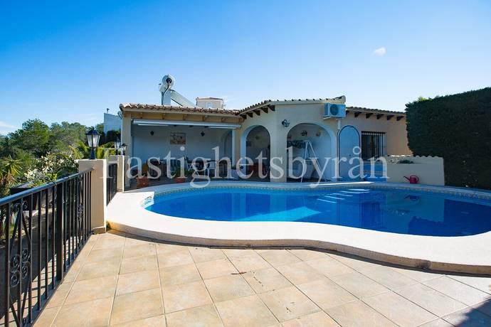 Bild: 4 rum villa på Enplans villa med spansk karaktär!, Spanien Alfaz del Pi   Costa Blanca