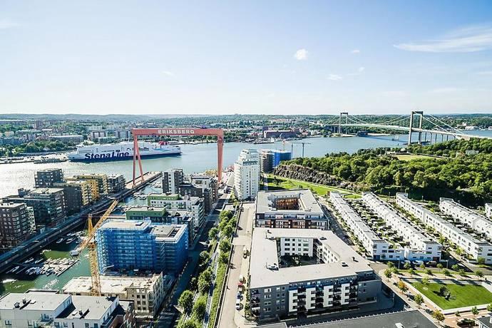 Bild: 2 rum bostadsrätt på Maj På Malös Gata 38, Göteborgs kommun Eriksberg