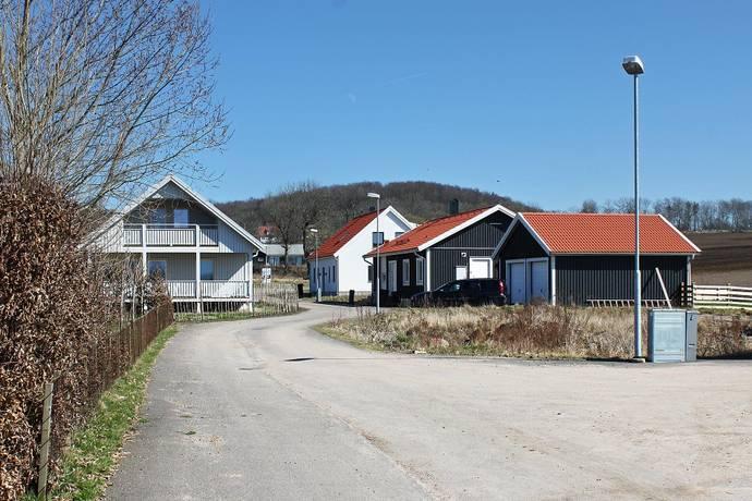 Bild: tomt på Erik Petters väg, Båstads kommun