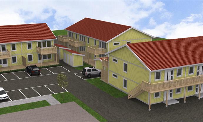 Bild: 3 rum bostadsrätt på Oxtorgsgatan 315, Älmhults kommun