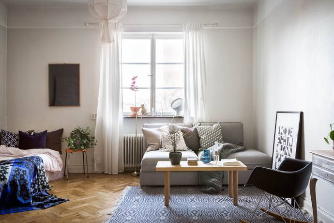 Bild: 1 rum bostadsrätt på Metargatan 9, Stockholms kommun Södermalm / Sofia