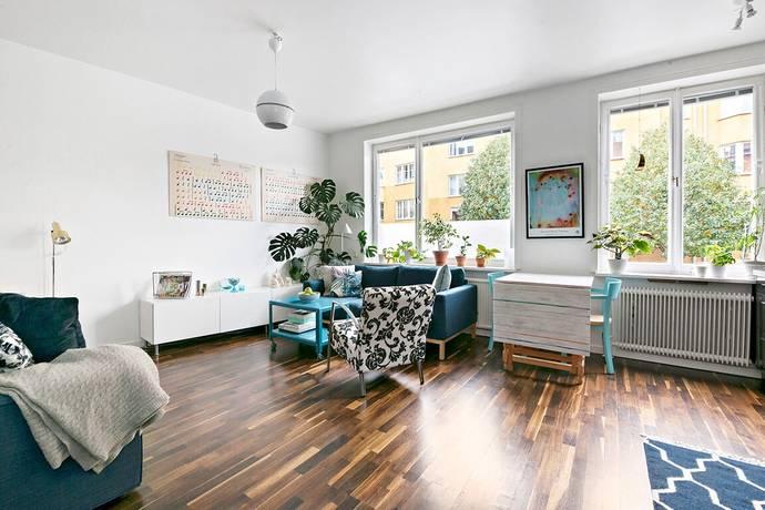 Bild: 1 rum bostadsrätt på Vattenledningsvägen 23, 1 tr, Stockholms kommun Midsommarkransen