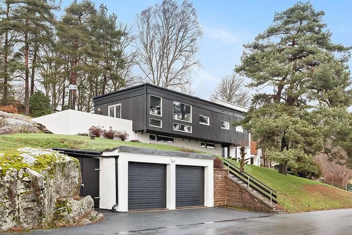 Bild: 5 rum villa på Prästliden 1, Marks kommun Kinna/Kammarberg