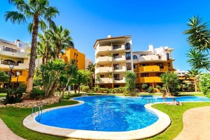 Bild: 3 rum bostadsrätt på Möblerad marklägenhet i Punta Prima, T598, Spanien Torrevieja, Alicante, Costa Blanca