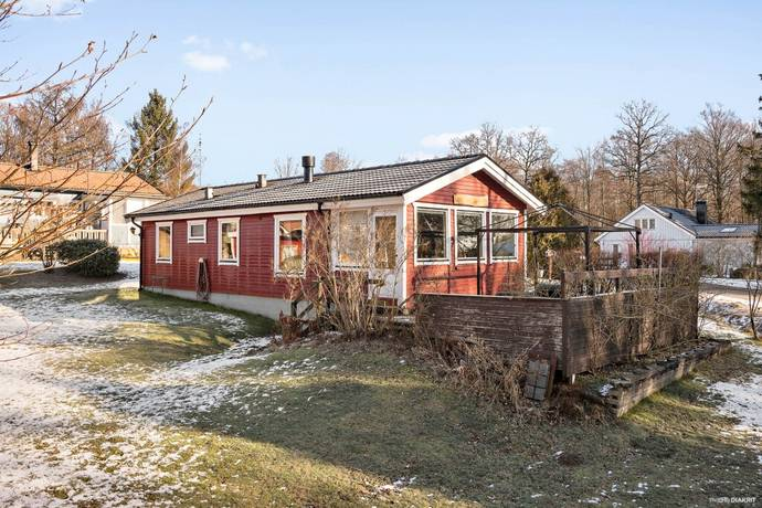 Bild: 3 rum villa på Byåkersvägen 8, Ängelholms kommun Lerbäckshult