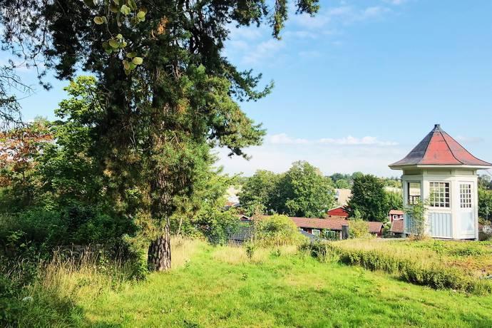 Bild: tomt på Fjällbjörksgränd 5, Stockholms kommun Hässelby Villastad Södra
