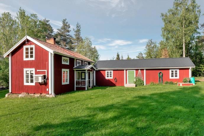 Bild: 3 rum villa på Oppbyvägen 14 och Oppbyvägen 16, Hudiksvalls kommun Hudiksvall