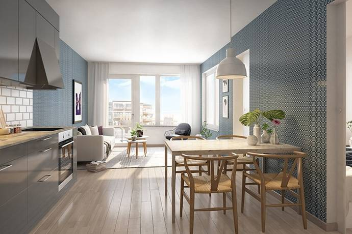 Bild: 2 rum bostadsrätt på Garagevägen 30, Stockholms kommun Blåsut