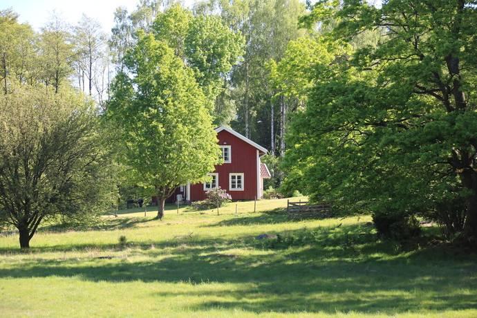 Bild: 6 rum gård/skog på Nässja 115, Hylte kommun