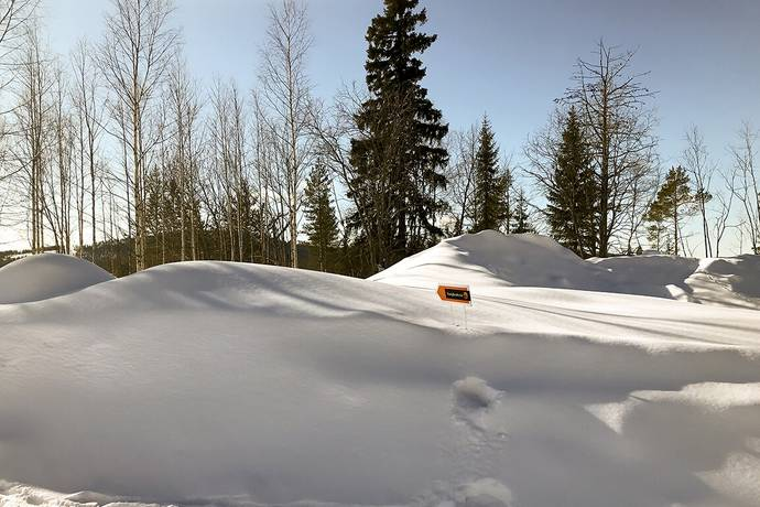 Bild: tomt på Kåbdalis 157 B, Jokkmokks kommun