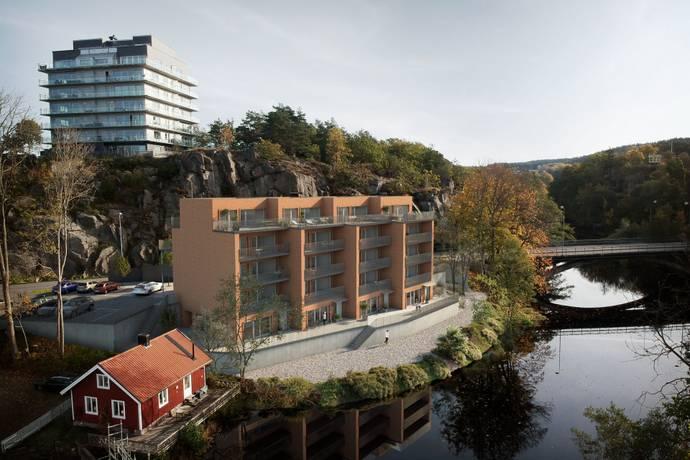 Bild från Centralt - BRF Bävestrand - en oas i centrala Uddevalla med exklusiva bostadsrätter!