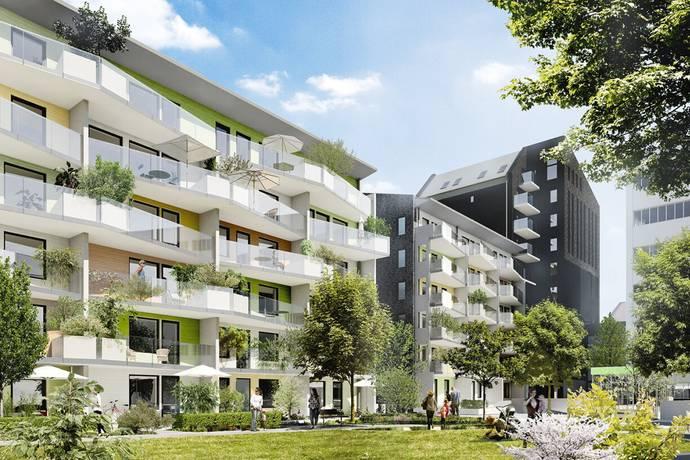 Bild: 2 rum bostadsrätt på Settergatan lgh 13-1002/13-1102, Stockholms kommun Norra Djurgårdsstaden