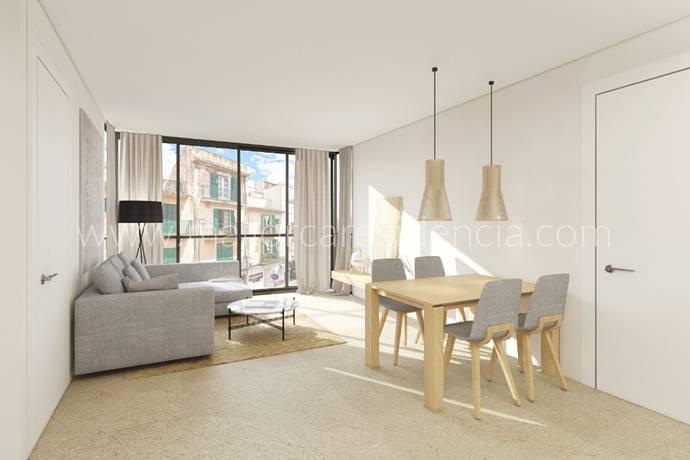 Bild: 3 rum bostadsrätt på Lägenhet i El Camp d'en Serralta, Mallorca, Spanien
