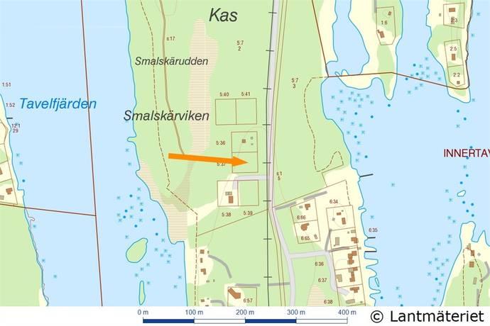 Bild: tomt på Sillviken 842, Umeå kommun