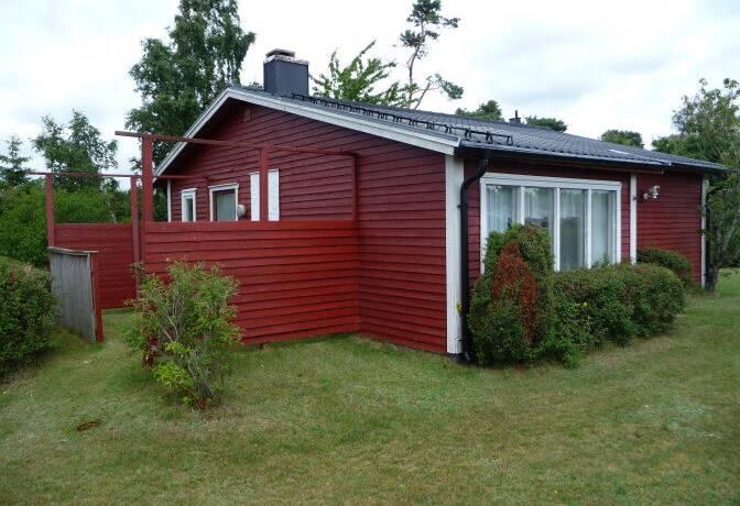 Bild: 4 rum fritidshus på Blåklocksvägen 13, Halmstads kommun