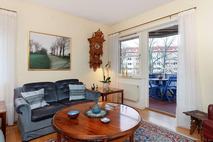Bild: 3 rum bostadsrätt på Herserudsvägen 8, 3 tr, Lidingö kommun Herserud