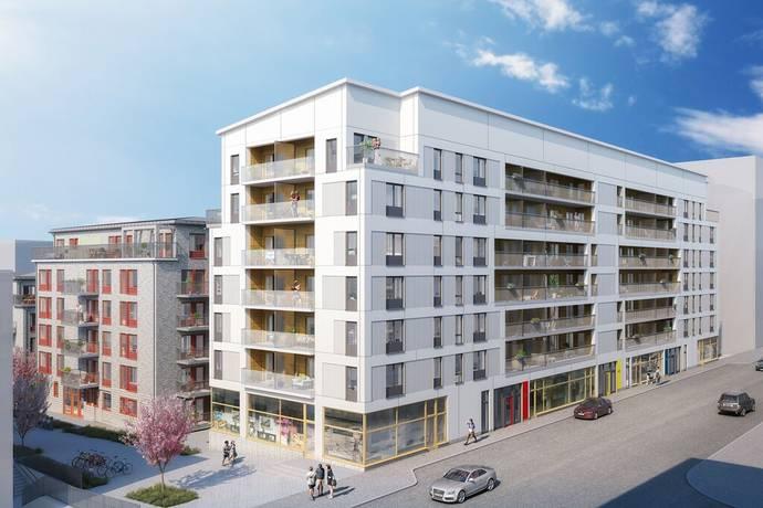 Bild: 1 rum bostadsrätt på Virkesvägen 5 D, Stockholms kommun Hammarby Sjöstad