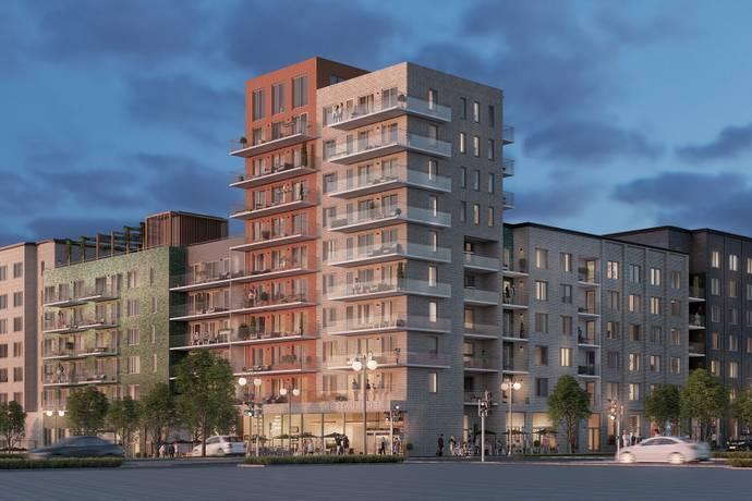 Bild: 4 rum bostadsrätt på Brf Nor i Täby, Täby kommun Täby Park