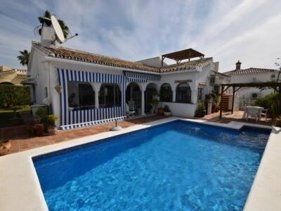 Bild: 3 rum villa på Villa, Mijas - Las Farolas - Costa del Sol, ES, Spanien Mijas - Las Farolas - Costa del Sol
