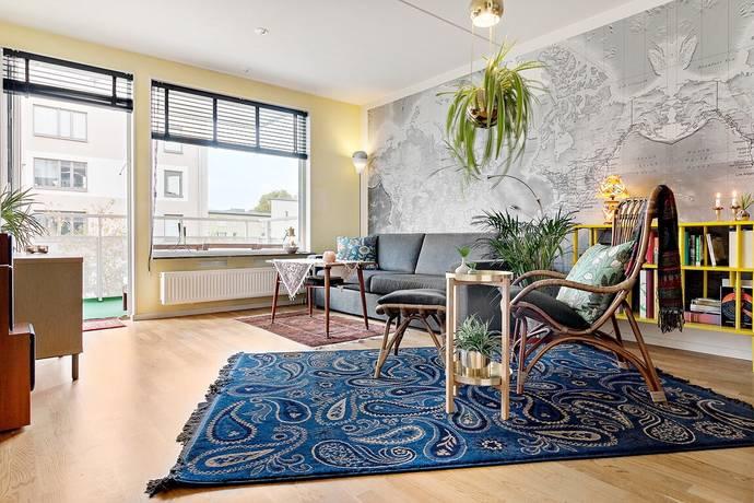 Bild: 2 rum bostadsrätt på Rosenborgsgatan 11, Solna kommun Frösunda