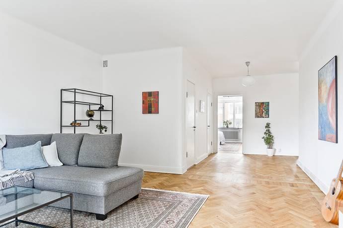 Bild: 2 rum bostadsrätt på Odensgatan 2A, Uppsala kommun Främre Luthagen
