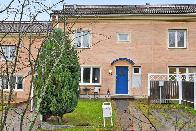 Bild: 4 rum radhus på Lillies väg 58, Sollentuna kommun Viby