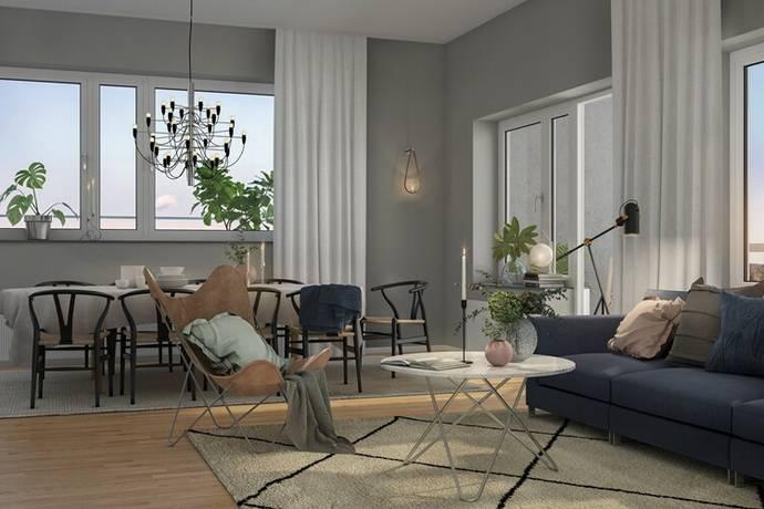 Bild: bostadsrätt på Arenastaden, Members Club, Solna kommun Arenastaden
