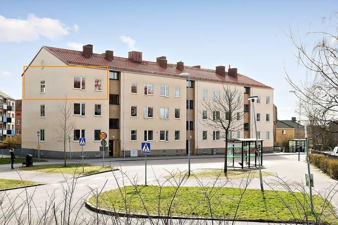 Bild: 2 rum bostadsrätt på Flygaregatan 3, Halmstads kommun Centralt