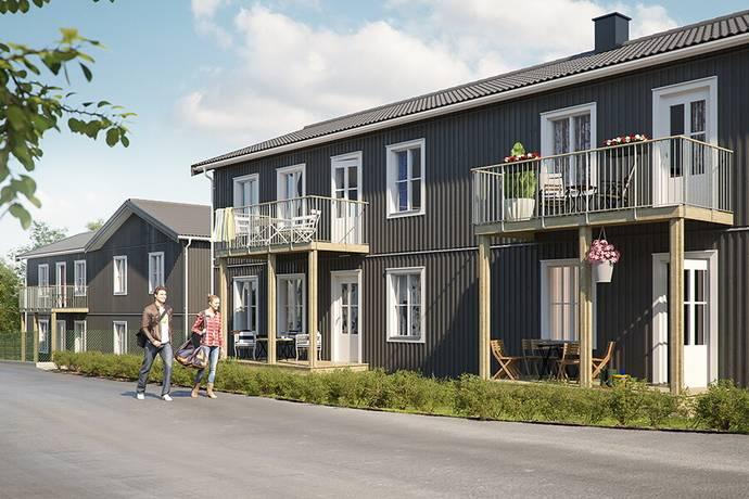Bild: 4 rum bostadsrätt på Gärdesvägen 4c, Håbo kommun Väppeby