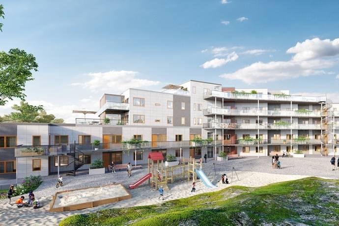 Bild: 4 rum bostadsrätt på Mellbyvägen 12, LGH 1008, Strömstads kommun
