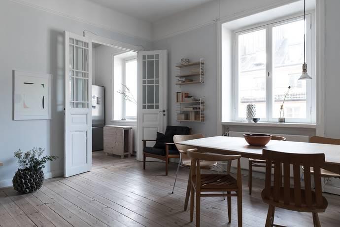 Bild: 2 rum bostadsrätt på Heleneborgsgatan 25B, 4 tr- Accepterat pris, Stockholms kommun Södermalm Hornstull