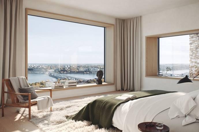 Bild: 4 rum bostadsrätt på Bobergsgatan 61, GASKLOCKAN, Stockholms kommun Norra Djurgårdsstaden